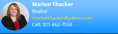 Introducing Marion Thacker Real Estate Agent in Orlando, FL